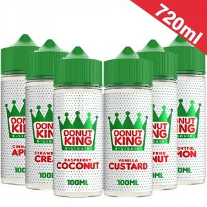 720ml Donut King  - Shortfill Sample Pack