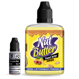 Banana Peanut Butter Jelly - NutButter Shortfill