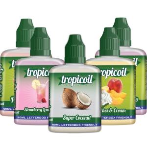 300ml Tropicoil - Shortfill Sample Pack