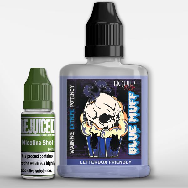 Blue Muff - LiquidRage Shortfill