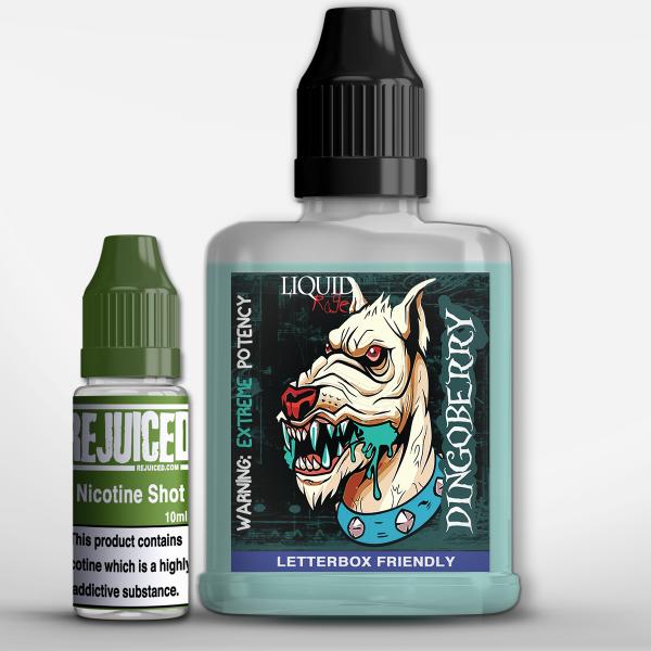 Dingoberry - LiquidRage Shortfill